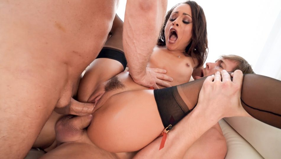 Holly's DP & Double-Anal Defiling