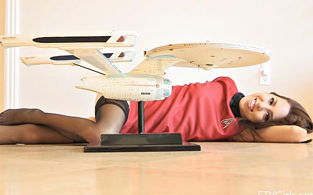 FTV Girls  Lola Star Trek nude fun