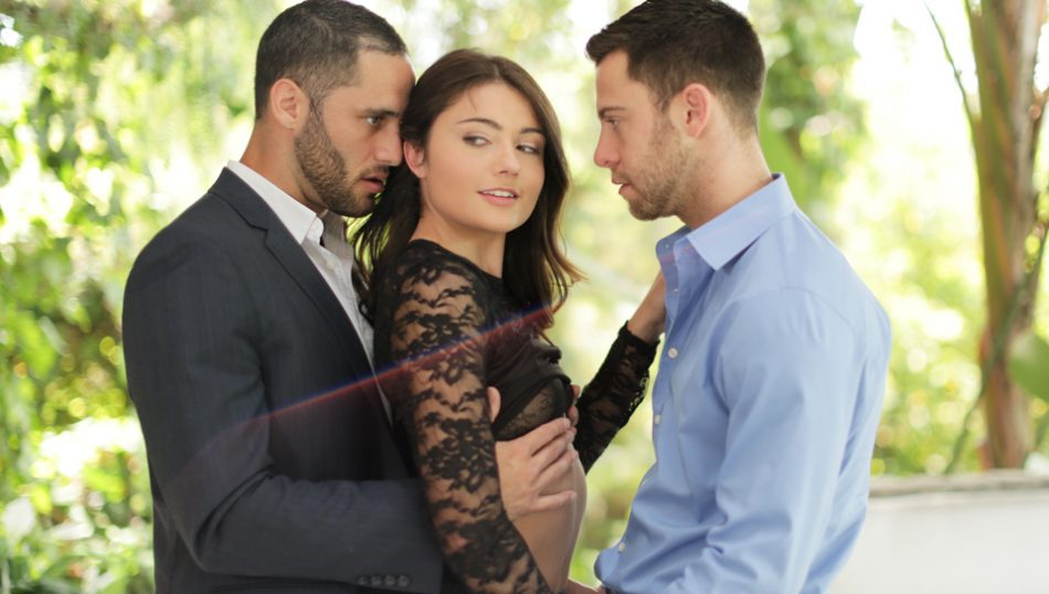 Adria fulfills her fantasy of being fucked by two men
