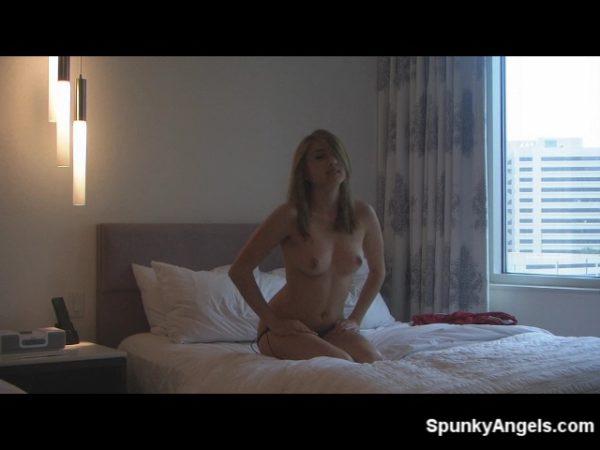 Zoey Violet naked in bed