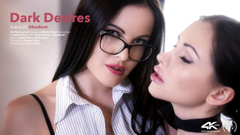 Viv Thomas Dark Desires Episode 2 - Obedient - Dolly Diore & Sasha Rose