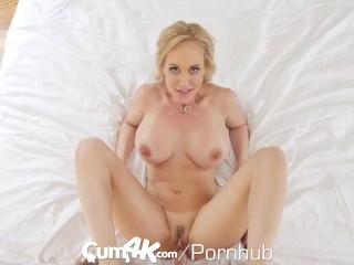 CUM4K Best Creampie fuck with Brandi Love