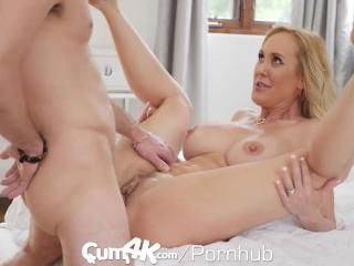 CUM4K Step Mom Brandi Love FILLED with multiple creampies